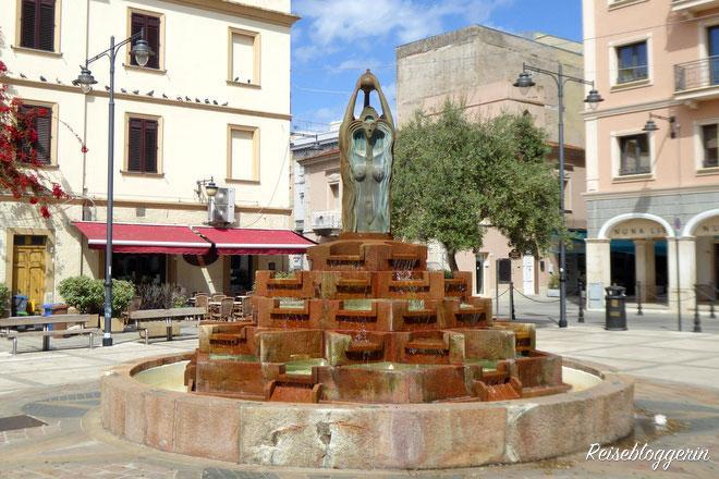 Brunnen in Olbia