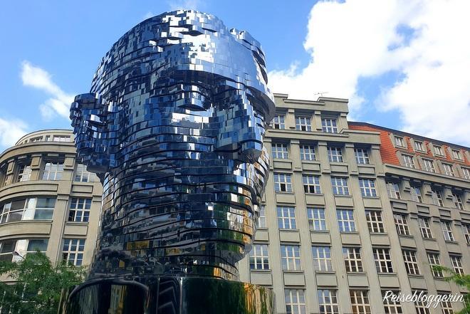 Kafka Denkmal von David Cerny