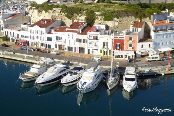Hafen Mahon auf Menorca