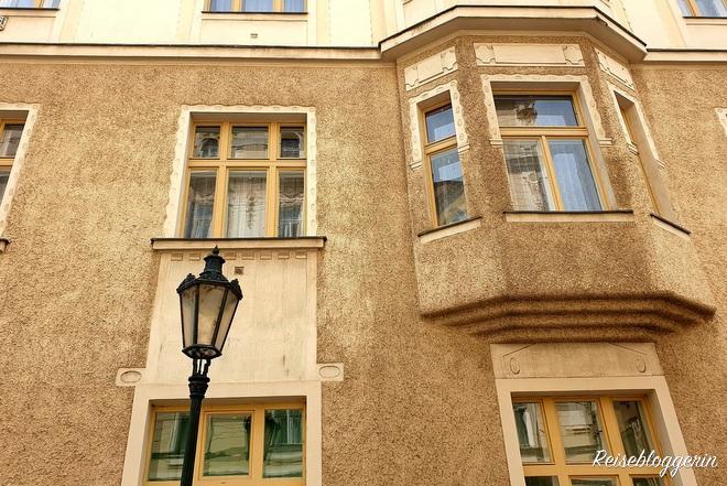 In diesem Haus wohnte Franz Kafka