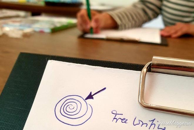 Kreativ schreiben am Gut Trögern
