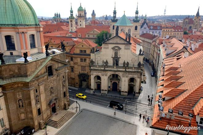 Kreuzherrenkirche und Salvatorkirche in Prag