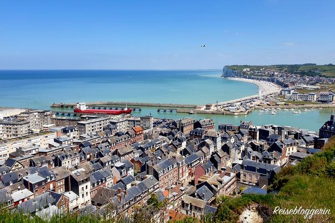 Die Küstenstadt Le Tréport