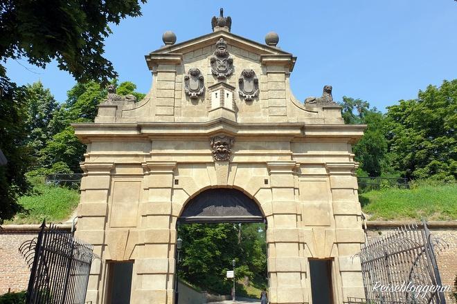 Leopoldtor in Prag