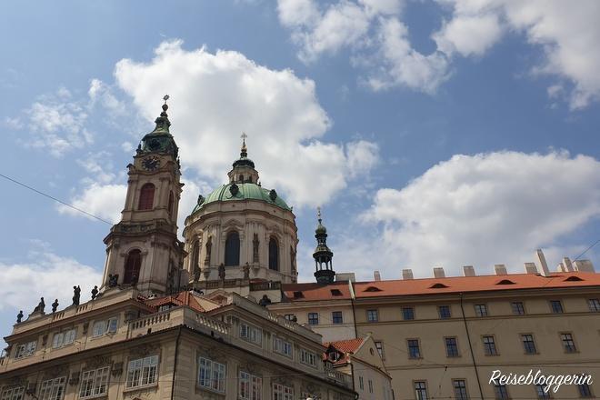 Die Nikolaikirche auf der Prager Kleinseite
