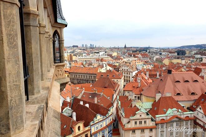 Die Prager Altstadt von oben