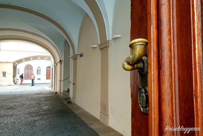 Das staatliche deutsche Gymnasium in Prag