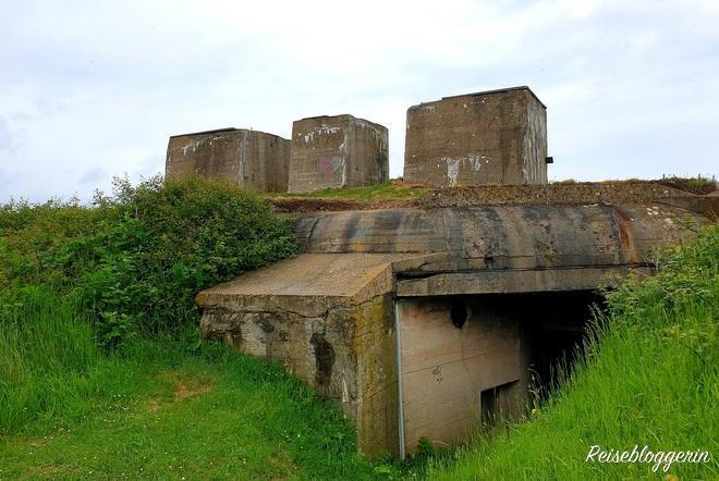 Bunkerrelikt aus dem Zweiten Weltkrieg