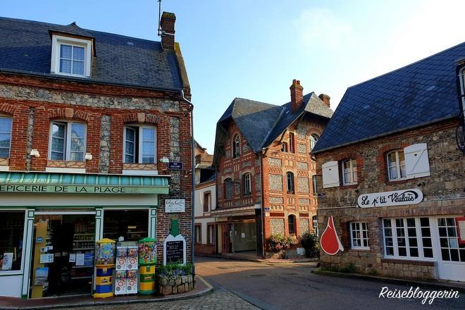 Veules-les-Roses, ein kleines Dorf in der Normandie