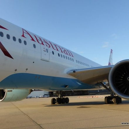 Austrian Airlines Boing 777