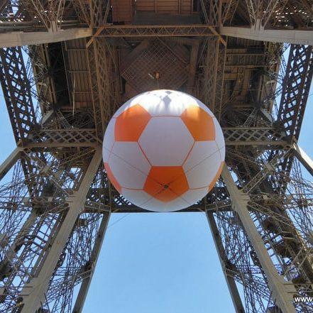 Eiffelturm Europameisterschaft Frankreich