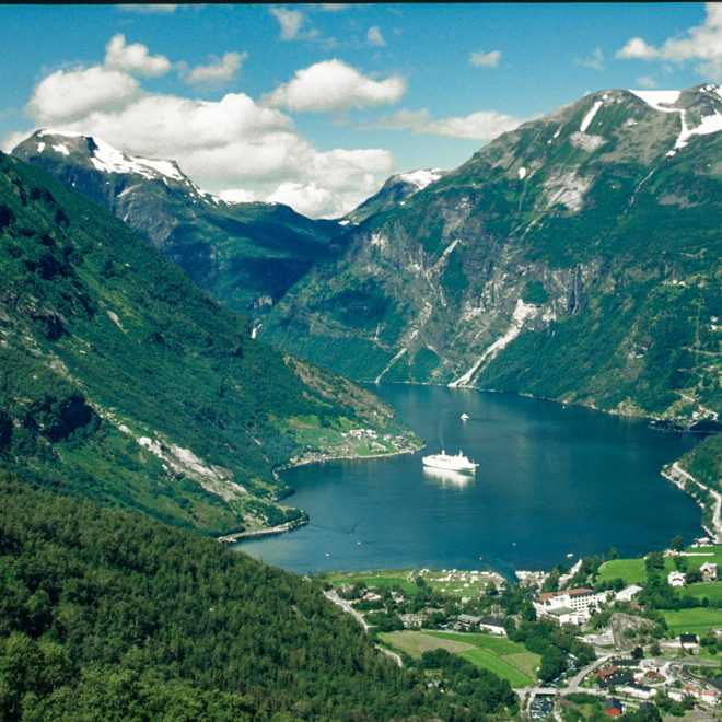 Geirangerford in Norwegen