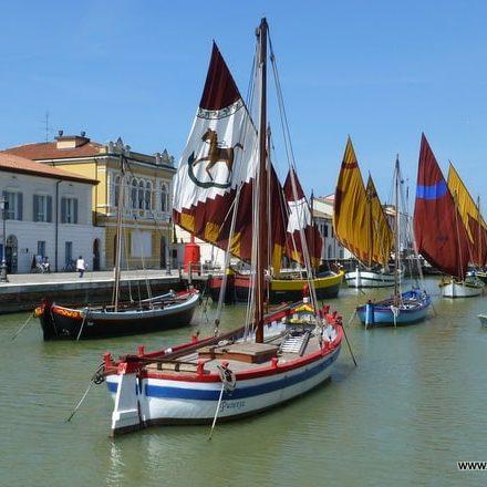 Der Kanal von Cesenatico